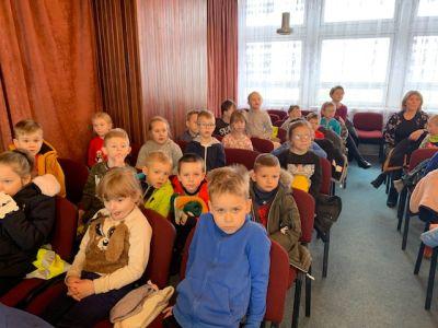 Starszaki na Koncercie w Szkole Muzycznej